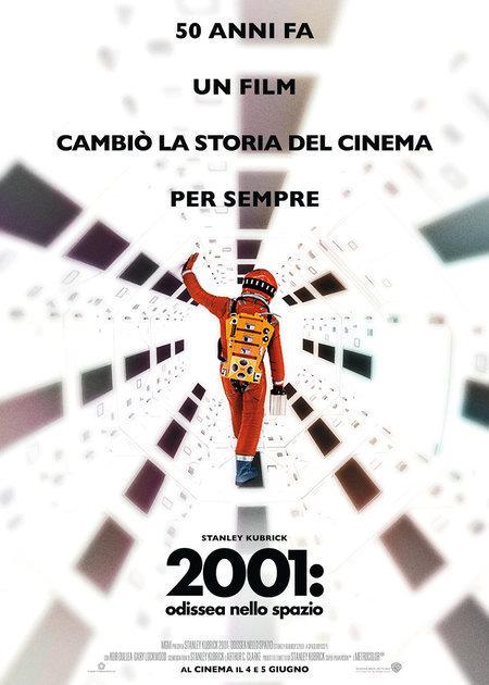 2001: ODISSEA NELLO SPAZIO (RIED.2018) (2001: A SPACE ODISSEY) VERS.ORIG.