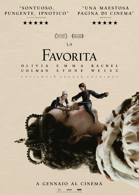 LA FAVORITA (THE FAVOURITE) VERS.ORIG.SOTT