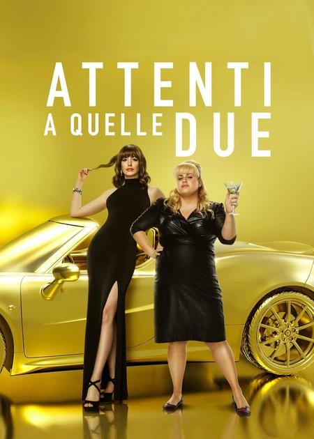 ATTENTI A QUELLE DUE (THE HUSTLE) - VERS.ORIG.SOTT