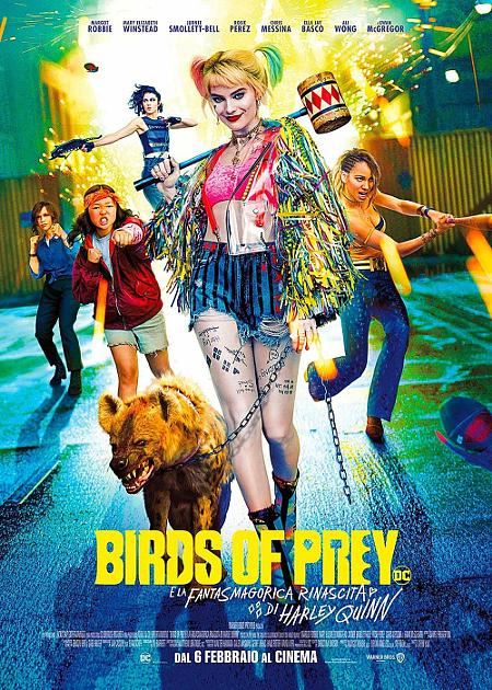 (V.O.) BIRDS OF PREY (and the Fantabulous Emancipation of One Harley Quinn)