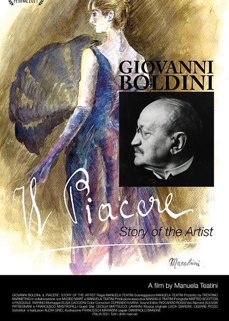 GIOVANNI BOLDINI. IL PIACERE. STORY OF THE ARTIST